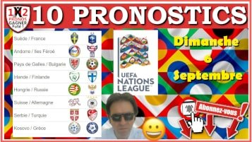 10 Pronostics Ligue des Nations UEFA de FRED Tipster Gagner Futé pour le dimanche 6 septembre 2020 WP-min