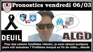 2 Pronostics vandredi 06 03 Alerte ALGO Gagner Futé de FRED tipster Gagner futé GF x200-min