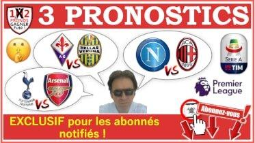3 Pronostics FOOTBALL GRATUIT 12-07 Pronostics Football de Fred Tipster Gagner Futé WPx210H -min