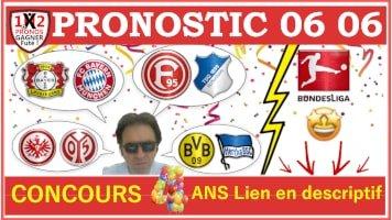 4 Pronostics Bundesliga GRATUIT de FRED Tipster Gagner Futé WPx200H pour le 06 06-min
