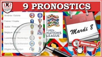 9 Pronostics Ligue des Nations UEFA de FRED Tipster Gagner Futé pour le mardi 8 septembre 2020 WP-min
