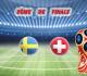 Pronostic Coupe du Monde 8ème de finale : Suède vs Suisse