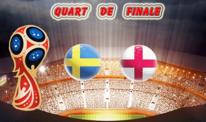 Pronostic Coupe du Monde quart de finale :  Suède vs Angleterre