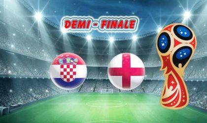 Pronostic Coupe du Monde demi-finale :  Croatie vs Angleterre