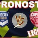 Pronostic Bordeaux Dijon Ligue 1 GRATUIT 04-10