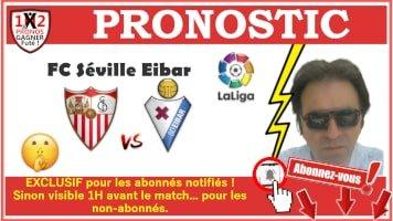 Pronostic FC Séville Eibar La Liga GRATUIT 06-07 Pronostics Football en Serie A de Fred Tipster Gagner Futé WPx200H-min
