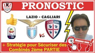 Pronostic LAZIO CAGLIARI Serie A GRATUIT 23-07 Pronostics FOOTBALL de FRED Tipster Gagner futé Gagné WP-min