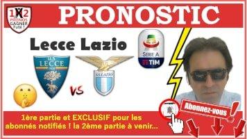 Pronostic Lecce Lazio Serie A GRATUIT 07-07 Pronostics Football de Fred Tipster Gagner Futé WPx200H-min