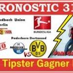 Pronostic Paderborn Borussia Dortmund Bundesliga GRATUIT 31-05