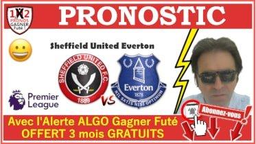 Pronostic Sheffield United Everton Premier League GRATUIT 20-09 Pronostics FOOTBALL de FRED Tipster Gagner futé Gagné WP-min