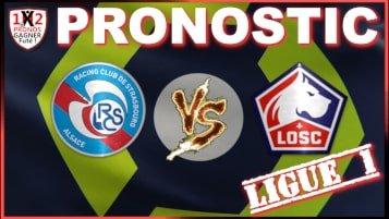 Pronostic Strasbourg Lille Ligue 1 GRATUIT 04-10