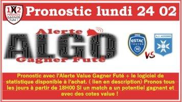 Pronostic lundi 24 02 Alerte ALGO Gagner Futé de FRED tipster Gagner futé GF x200-min