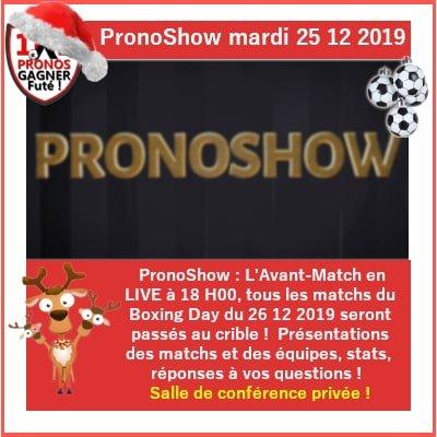 PronoShow en LIVE